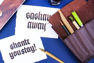 Blackletter Calligraphy Bootcamp
