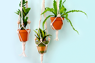 Make a Beautiful Macrame Plant Hanger