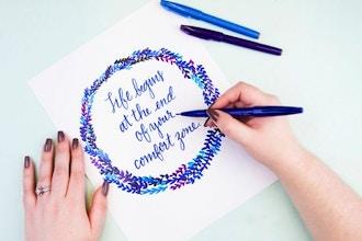 CraftJam Academy: Modern Calligraphy Workshop