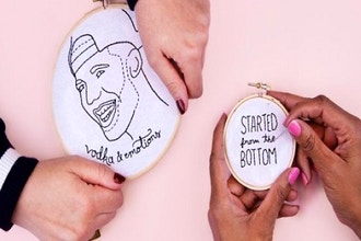 CraftJam Presents: Drake Themed Embroidery