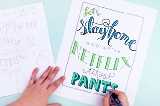 CraftJam Academy Hand Lettering Workshop