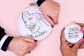 Beginner Embroidery WebJam