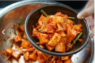 Radish Kimchi 2 Ways