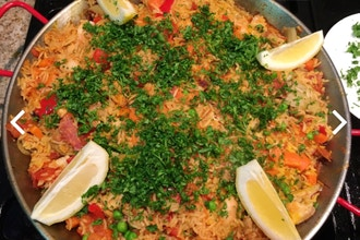 Paella with Chef Joanna Barajas