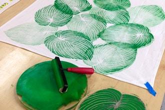 Block Printing on Textiles
