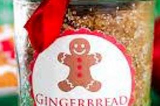 DIY Gingerbread & Peppermint Scrub Making