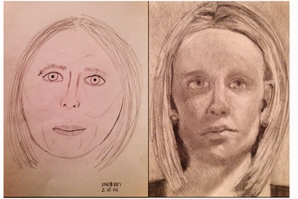 Drawing on the right side of brain - PORTRAIT WORKSHOP