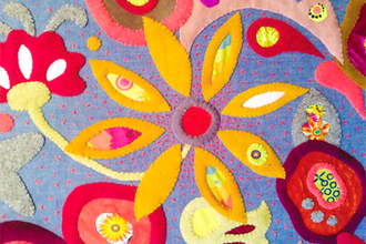 Intro to wool applique quilting classes new york coursehorse