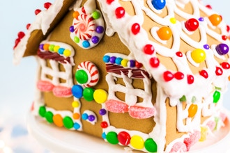 Gingerbread House Workshop & Holiday Cookies