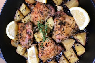 A Taste of Greece: Greek Style Chicken