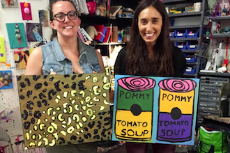 Adult Summer Art: Paint & Sip: Creative Self-Expression