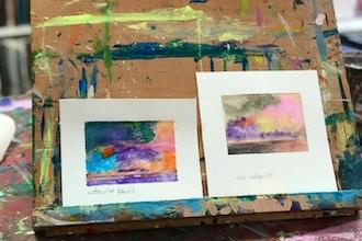 ADULT Summer Art: Watercolor Painting (BYOB)