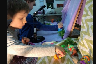 Introduction to Stop Motion Animation (Ages 5-8 yrs)