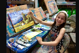 Introduction to Classic Drawing & Painting Ages 5-8 yrs