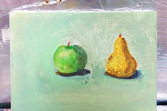 Adult: Still Life Drawing & Painting for Beginners