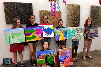 Masterclass for Teens: Painting Drawing & Mixed-Media