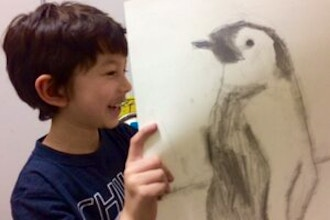 Kids Beginner Drawing and Illustration (Online)