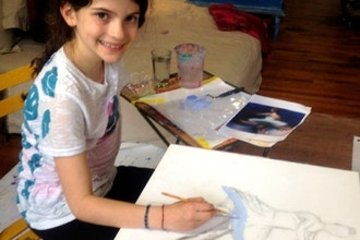 Kids Self Expression Painting & Mixed Media