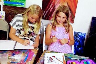 Winter Camp: Teens Art Camp (Half Day)