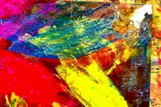 Adult Beginners Abstract Painting