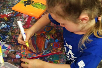Toddler Art Camp (Ages 2-4)