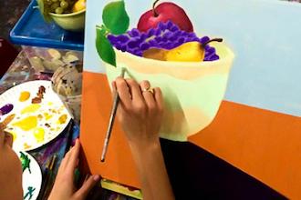 Adult: Beginner Acrylic Painting 101 (BYOB)