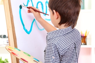 Masterclass for Kids: Drawing, Painting & Mixed media