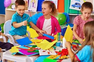 Winter Camp: Kids Art Camp (Half Day)
