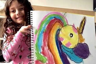 Kids: Fairytale Story-Book Art