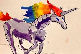 Kids Art Workshop: Fantasy Magical Kingdom