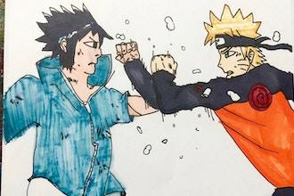 Teens: Beginner Anime & Manga Art