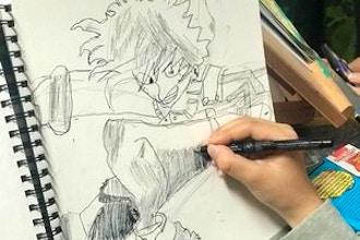 Teens: Cartooning, Manga & Anime Art