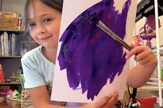 Kids: Introduction to Drawing & Painting (Online)
