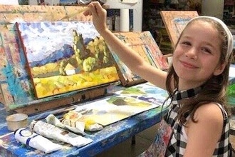 Kids Online Art: Painting 101
