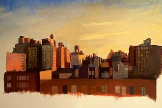 Teens: Intermediate Plein Air Painting Class