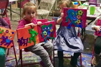 Toddler Spring Art Camp (2-4 yrs)