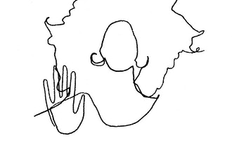Blind Contour Line Drawings with Claire Salvo