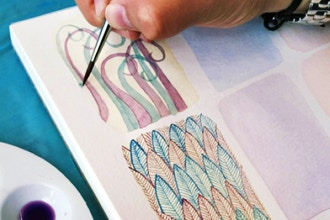 Watercolor Textures with Ana Victoria Calderon