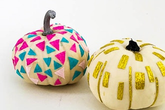 Decoupage & DIY Pumpkins