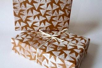 DIY Wrapping Paper Printing