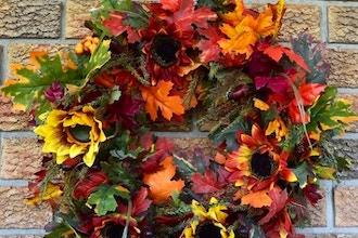 Fall Foliage Wreath Workshop