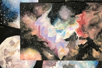 Watercolor Galaxies