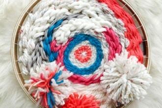 Weaving on a Circle Loom