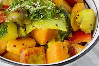 Autumn Squash curry beyond--Exquisite Indian cuisine