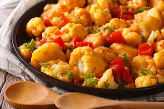 Vegetarian Dusserah Dinner