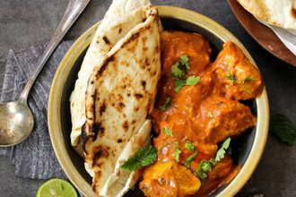 Indian Cooking: How to Make Butter Chicken and Paratha