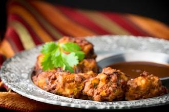 Pakora, Paratha, Saag Paneer, Butter Chicken
