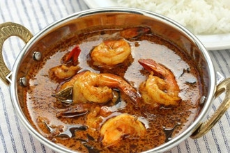 Secrets of Healthy Indian Cooking: Coastal Shrimp Curry