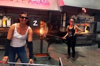 Glass Blowing: Color and Form (Intermediate)
