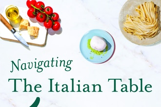 Navigating the Italian Table: Tour & Hands-on Cooking